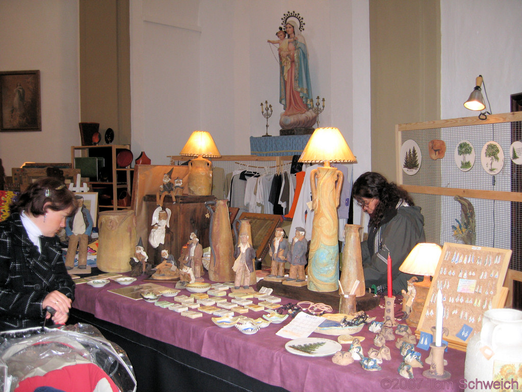 Crafts Fair, Grazalema, Cadiz, Andalucia, Spain