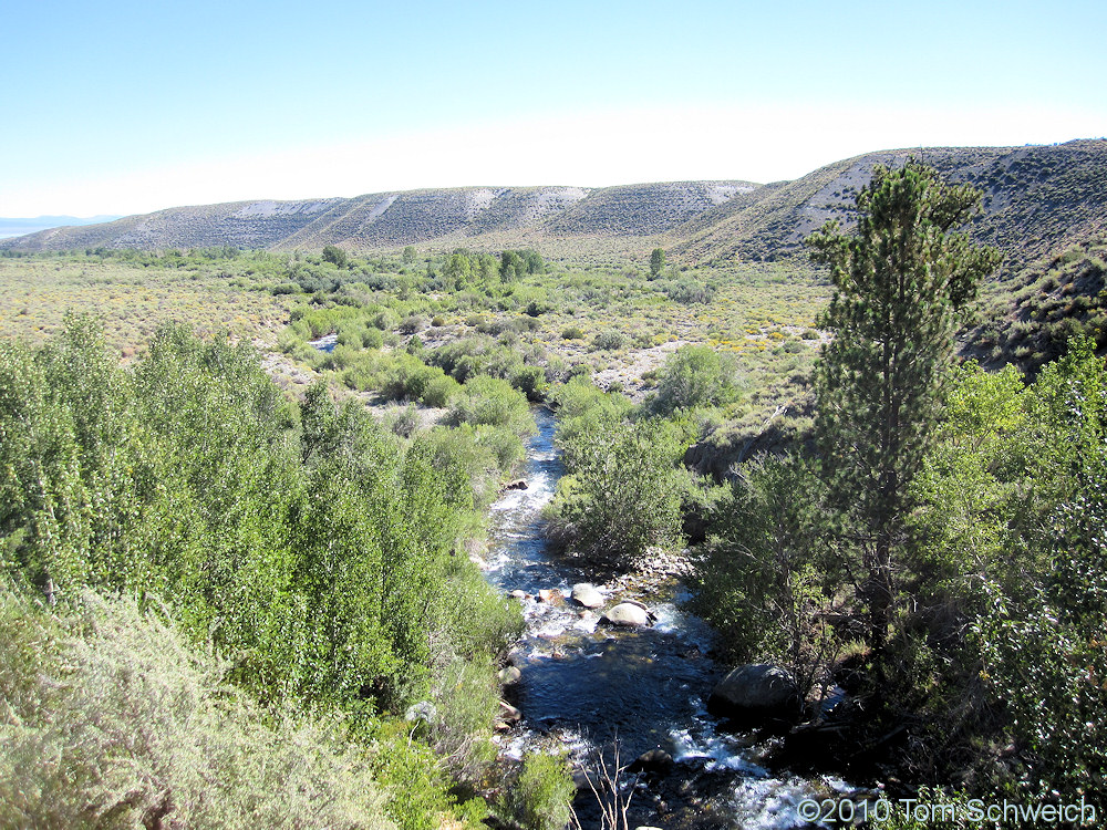 California, Mono County, Rush Creek