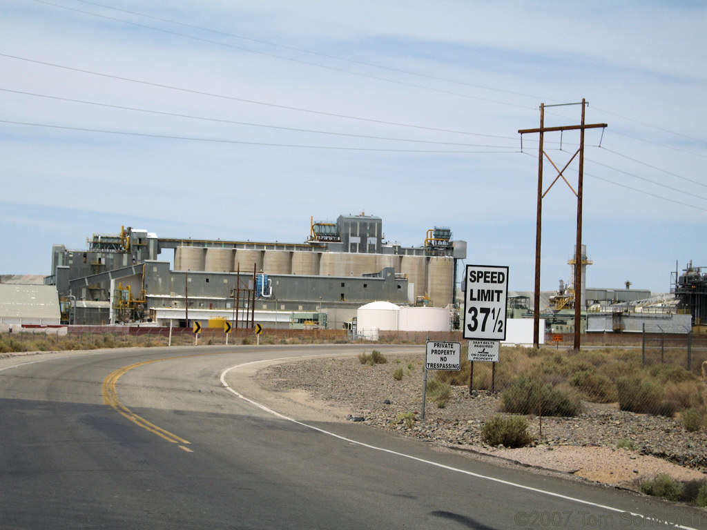 US Borax Plant, Kern County, California