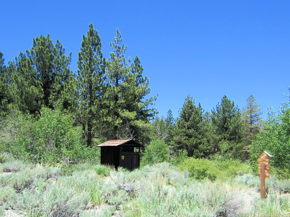 California, Mono County, Sagehen Meadow Campground