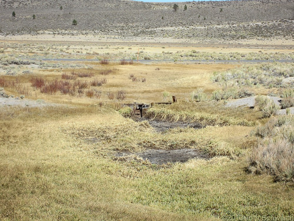 California, Mono County, Dry Creek, Big Sand Flat.