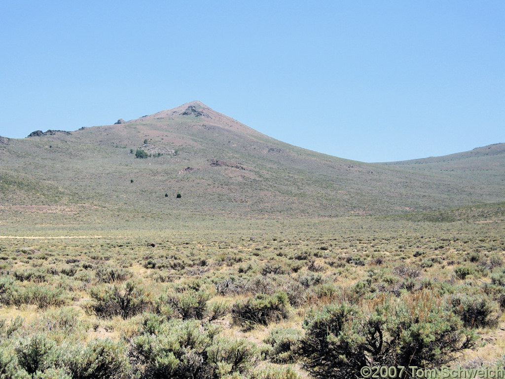 California, Mono County, Mount Beideman