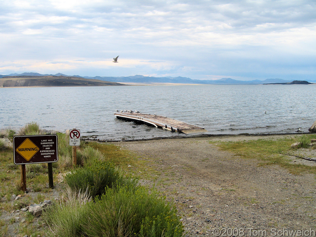 California, Mono County, Mono Lake, Old Marina