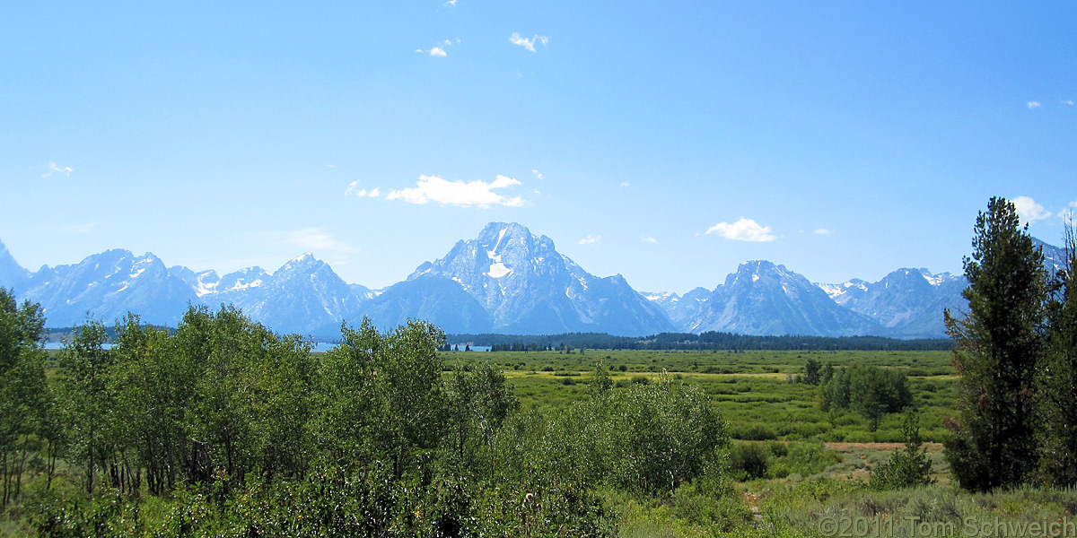 Wyoming, Teton County, Willow Flat