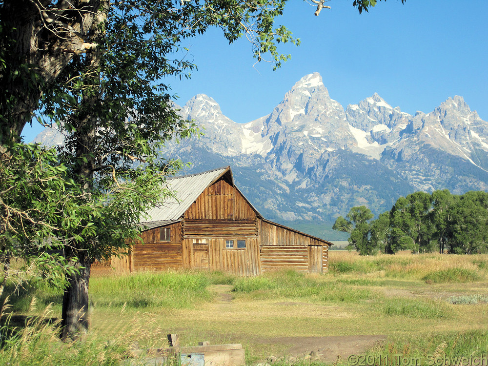 Wyoming, Teton County, Mormon Row