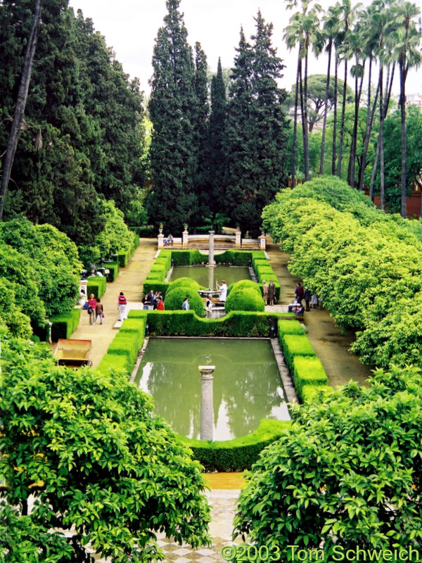 Gardens of the Alcazar.