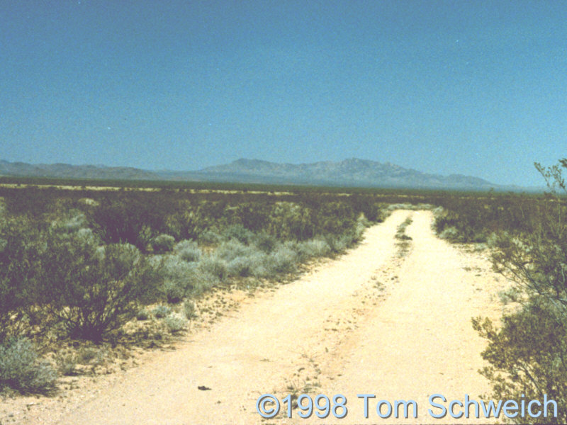 Road to Fort Piute.