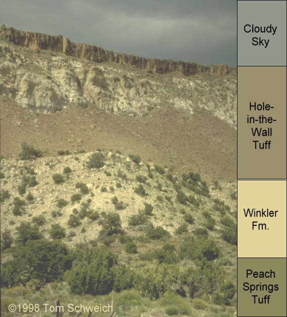 Winkler Formation at Pinto Mountain.