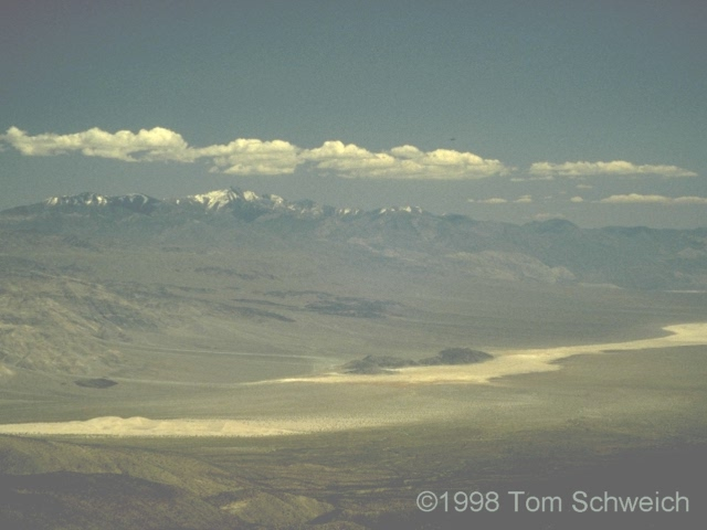 Northern Panamint Valley from Saline Valley Road.