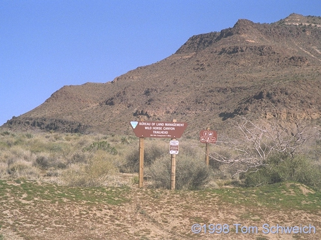 Wild Horse Canyon Trailhead